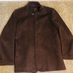 Men's brown jacket.